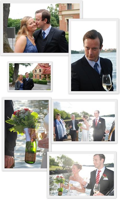 Rickard och evas bröllop